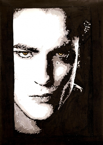 Robert Pattinson por amandouPaint